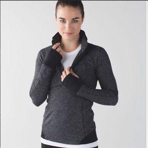 Lululemon Athletica Runderful Half Zip Pullover
